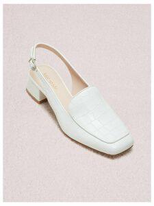 Sahiba Pumps - White Croc - 3.5 (Us 6)