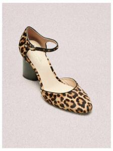 Serene Pumps - Natural Leopard Haircalf - 3.5 (Us 6)