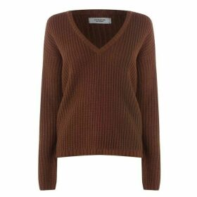JDY Peggy V Neck Knitted Jumper