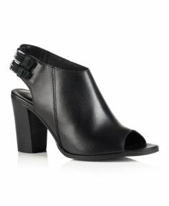 Superdry Wren Sling Back Heel Shoes