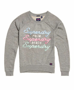 Superdry Applique Raglan Crew Sweatshirt