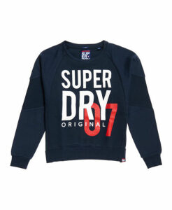 Superdry SD Dimensional Panelled Crew Sweatshirt