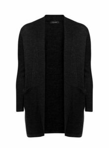 Black Longline Stitch Cardigan, Others