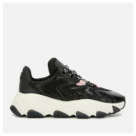 Ash Women's Extreme Chunky Running Style Trainers - Black/Black/Orchid - UK 8 - Black