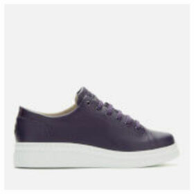 Camper Women's Runner Leather Chunky Flatform Trainers - Purple