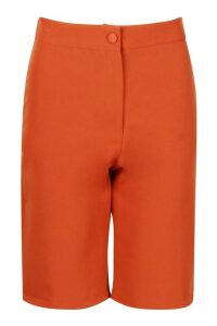 Womens Tailored City Shorts - orange - 14, Orange
