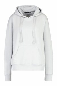 Womens Oversized Hoodie - Grey - 14, Grey