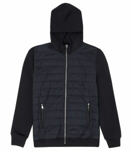 Reiss Hamish - Quilted Jacket in Navy, Mens, Size XXL