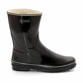 Venise Patent Wellington Boots