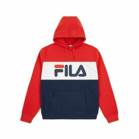 Lori Colour Block Slip-On Hoodie in Cotton Mix with Pocket