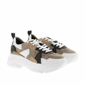 Kennel & Schmenger Sneakers - Cloud Calf Bianco Taupe Gold - colorful - Sneakers for ladies