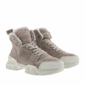 Kennel & Schmenger Boots & Booties - Ace Suede Lammfell Ombra Creme - grey - Boots & Booties for ladies