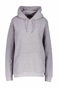 Womens Oversize Hoodie - grey - XL, Grey