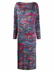Missoni Pre-Owned printed mini dress - Blue