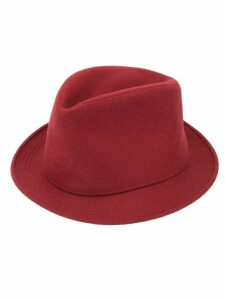 Hermès Pre-Owned Homburg hat - Red