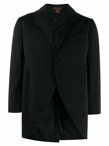 A.N.G.E.L.O. Vintage Cult 1930's loose notched coat - Black