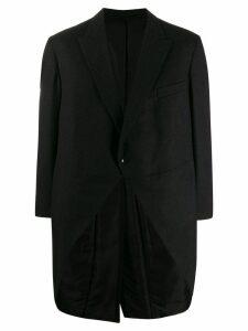 A.N.G.E.L.O. Vintage Cult 1990's back pleated oversized coat - Black