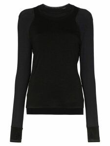 Sweaty Betty Breeze run top - Black