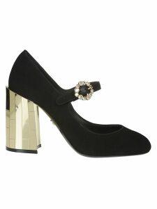 Dolce & Gabbana Chunky Heel Mary Jane Pumps