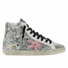 Golden Goose Sneakers Sneakers Francy Golden Goose In Sequin And Leather