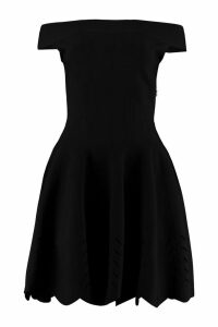 Alexander McQueen Open-knit Dress