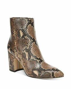Sam Edelman Women's Hilty Pointed Toe Block High-Heel Ankle Booties - 100% Exclusive