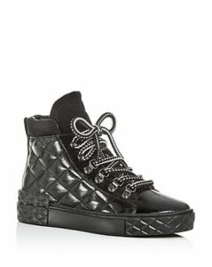 Marc Fisher Ltd. Women's Dulce Quilted High-Top Sneakers