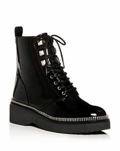 Michael Michael Kors Women's Haskell Platform Combat Boots