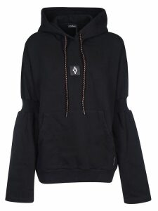 Marcelo Burlon Attached Shoulder Hoodie