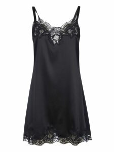 Dolce & Gabbana Lace Trim Top