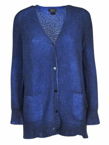 Avant Toi Frayed Edge Cardigan