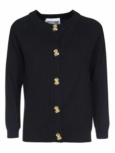 Moschino Embellished Button Cardigan