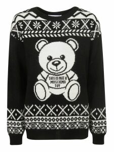 Moschino Toy Bear Intarsia Sweater