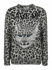 Alberta Ferretti Animal Print Sweater