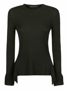 Alberta Ferretti Ribbed Sweater