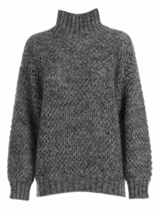Alberta Ferretti Sweater L/s High Neck
