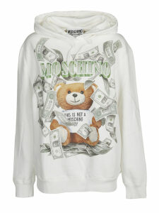 Moschino Teddy Dollar Print Sweatshirt