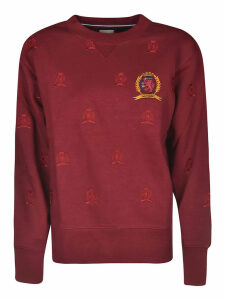 Tommy Hilfiger Hcw Crest Side Zip Sweatshirt