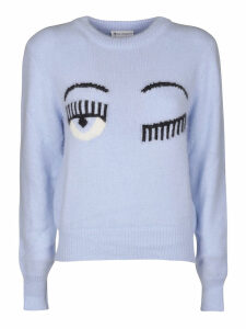 Chiara Ferragni Flirting Eye Sweater