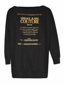 Versace Jeans Couture Logo Sweatshirt Dress