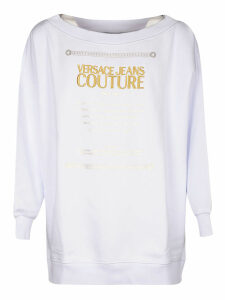 Versace Jeans Couture Logo Sweatshirt Dress