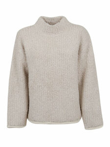 3.1 Phillip Lim Ls Boucle Turtleneck