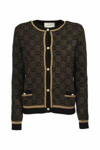 Gucci wool GG jacquard cardigan