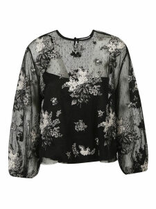 RED Valentino Flower Blouse