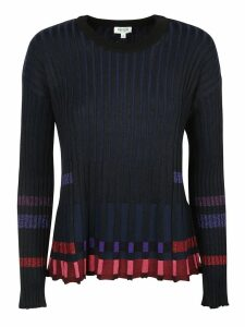Kenzo Pleated Crew Neck Jumper