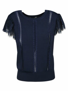 Alice + Olivia Ruffled Top
