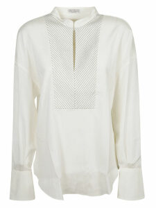 Brunello Cucinelli Embellished Blouse