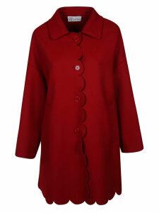 RED Valentino Scalloped Coat
