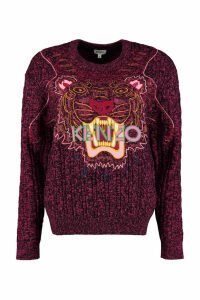 Kenzo Claw Tiger Wool Blend Sweater