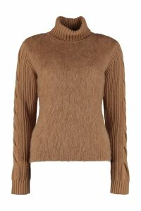 Max Mara Formia Virgin Wool Turtleneck Sweater